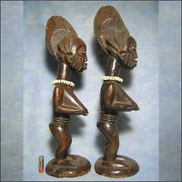 AFRICANTIC IBEDJI IBEJI YORUBA NIGERIA ART TRIBAL AFRICAIN STATUE AFRICAINE