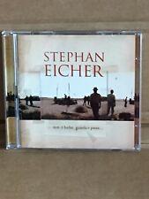 """CD DOUBLE STEPHAN EICHER  """"NON CI BADAR, GUARDA E PASSA"""""""