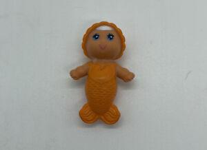 VINTAGE KENNER SEA WEES TROPIGALS BABY FINELLA ORANGE MERMAID 1979 Bath Toy