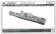 L'Arsenal Models 1/350 WWII 173-foot RIVER PATROL CRAFT Resin & Photo Etch Model
