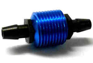 TD10011 1/10 Scale RC Glow Fuel Nitro Engine fuel Cooler Micro Blue