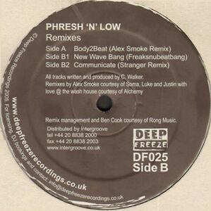PHRESH N LOW - Remixes - Deep Freeze