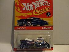 Hot Wheels Classics Series 1 #24 Purple T-Bucket