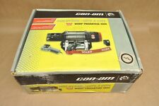 New Can-Am BRP Side By Side SxS ATV Warn Provantage 4500 Winch & Remote Kit