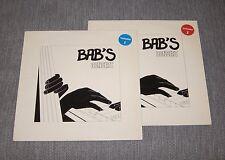 BAB'S CONCERT rare set of 2 LP BELGIAN JAZZ - PAOLO FAZIOLI PIANO World Premiere