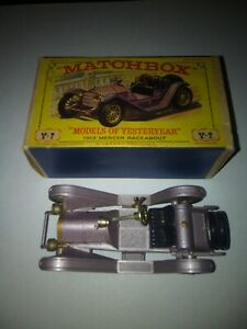 Matchbox Models of Yesteryear Y-7 1913 Mercer Raceabout Type 35J Lilac