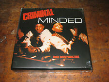 BOOGIE DOWN PRODUCTIONS Criminal Minded 7-inch box set BDP
