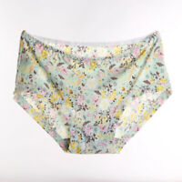 Women Soft Underpants Pattern Lingerie Briefs Hipster Underwear Panties