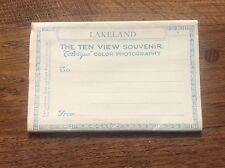 Set 10 colour Photographs Postcard Letter Card Lakeland Lake District Cumbria