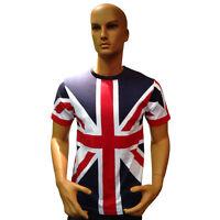 Tour Collection Union Jack Flag Mens / Kids Unisex T-Shirts Team GB 2018
