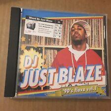 DJ Just Blaze 90's Uncut Flava NYC Hip Hop Mixtape Mix CD Throwback 1990's Rap