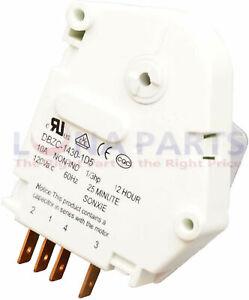 Defrost Timer for Frigidaire, 241705102, AP5986785, PS11726371, ER241705102