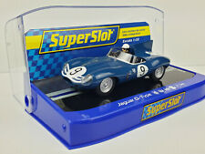 Slot Car Scalextric Superslot H3730 Jaguar D-Type #9 Nürburgring 1000KM 1957