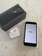 Apple iPhone 8 Plus - 256GB - Space Grey (Unlocked) A1897 (GSM)