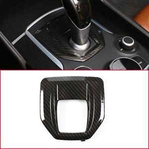 Carbon Fiber For Alfa Romeo Giulia Stelvio 2017-2019 Console Gear Shift Panel
