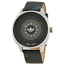 Adidas San Francisco Black Dial Mens Green Camo Watch ADH3152