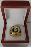 Jake Scott - 1972 Miami Dolphins Super Bowl Custom Ring WITH Wooden Box