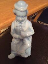 """Mosser blown-glass barrel clown The End Performer 1982 figurine B23 """"Von"""""""