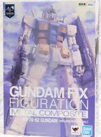Gundam RX-78-2 GFF-1017 Metal Composite 40TH Anniversary Edition Bandai Tamashii