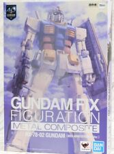 Aus Bandai Gundam Fix Figuration Metal Composite Rx-78-02 40th Anniversary