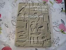 Munzen und da un catalogo G BASILEA BASEL APR72 NO46 antichità egiziane