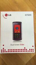 LG KF600 SLIDE PHONE / PURPLE / UNLOCKED / USED AS DEMO / VINTAGE PHONE @LOOK@