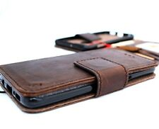 genuine leather case for LG V30  wallet cover book holder magnetic removable ID