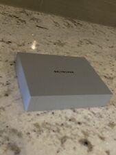 Small Gray Balenciaga Empty Gift Storage Decor Box Black Letters W/ Dust Bag New
