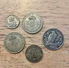 British coin lot - 50% silver coins 1937-1982