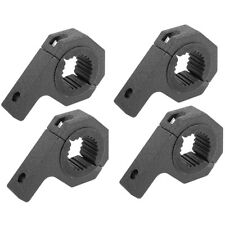 "4pcs LED Bar Mount Bracket Light Clamp For Roof Roll Cage 1"" 1.5"" 1.75"" 2"" inch"