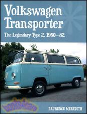 VOLKSWAGEN TRANSPORTER BOOK VW CAMPER WESTFALIA VAN MEREDITH MICRO BUS 1950-1982