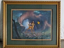 """Bambi """"Moment of Discovery"""" Disney LE 94/250 - Hand Painted Cel Rare"""