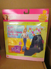 2000 Barbie Travels The World Color Book & Fashion.New.Nrfp
