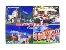 Kaiserslautern Kaiserbrunnen Foto Magnet Germany 8 cm Reise Souvenir