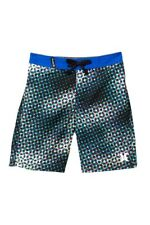 e0949a679d Hurley Boys Toddler 3/3t Board Shorts Mesh Lined Swim Trunks Dot Blue Black  Red
