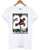 Maluku Islands T Shirt Fresh Summer Floral Balearic Baseball Holiday Mens Man