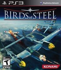 PLAYSTSTATION 3 PS3 GAME BIRDS OF STEEL BRAND NEW & FACTORY SEALED