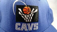 Cleveland Cavaliers Fitted Hat 7 1/4 Reebok Throwback Cavs NBA Light Powder Blue