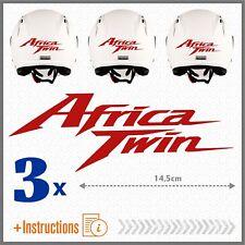 3x Africa Twin Rosso HONDA CRF1000L ADESIVI CRF 1000 L 2016 CRF1000 MOTO