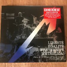 Metallica Live 6/11/03 France Liberte Egalite Fraternite Still Sealed RSD OOP