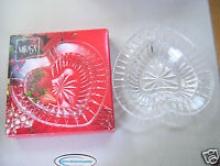 Vintage Mikasa Desire Crystal Heart Dish Made In Japan New In Box