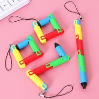 ALS_ Creative Colorful Folding Ballpoint Pen Stationery School Office Student Gi