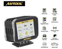 Autool X80 OBD2 Car Speedometer HUD Display Digital Meter Gauge Multi-meter func