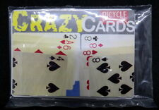 Crazy Cards , Päckchentrick von Bicycle, englische Anleitung