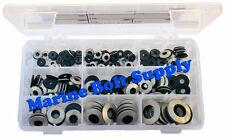 Stainless Steel Bonded Sealing Washer Assortment Kit Marine Bolt Supply 8-111428