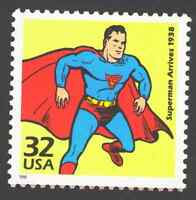 US. 3185 f. 32c. Superman Arrives, 1938. Celebrate The Century. MNH. 1998
