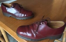 Dr Martens 1461 oxblood red leather shoes UK 5 EU 38 Made in England