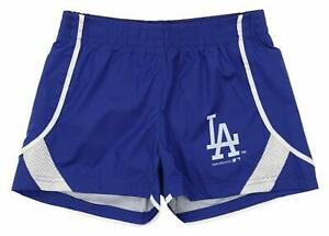 Outerstuff MLB Youth Girls Los Angeles Dodgers Performance Shorts