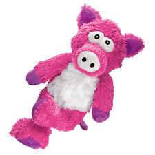 KONG Cross Knots Schwein S/M Pink Rosa Hundespielzeug Hund Spielzeug Plüsch