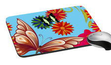 Butterfly Mouse Pad Comfort AntiSkid Mouse Pads Mats Laptop Computer PC